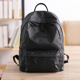 九城良品尼龙涂层防水背包男双肩包时尚潮流大容量轻便学生书包