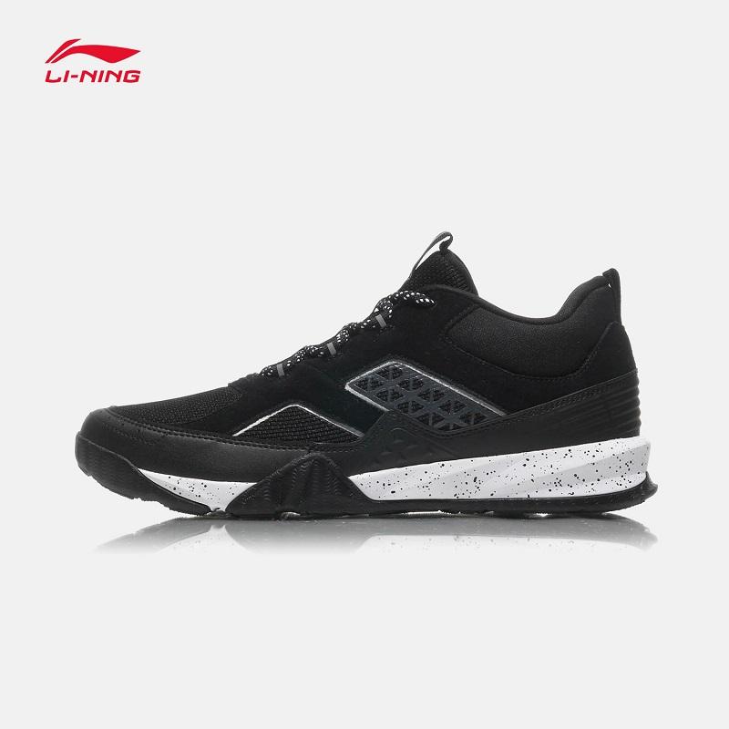 李宁男鞋跑步鞋夏季新款正品网面透气反光户外越野休闲运动鞋