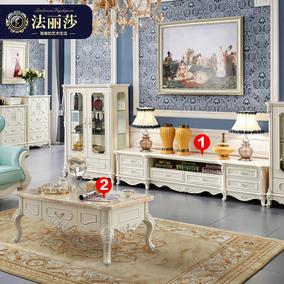法丽莎新款欧式客厅小户型电视柜