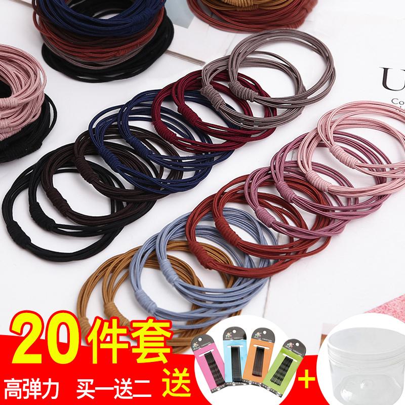 头绳小橡皮筋女扎头皮套发圈2021年新款网红夏天大人气质头饰发绳