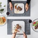牛排刀叉盘子套装家用情侣欧式牛扒西餐餐具全套创意牛排盘西餐盘