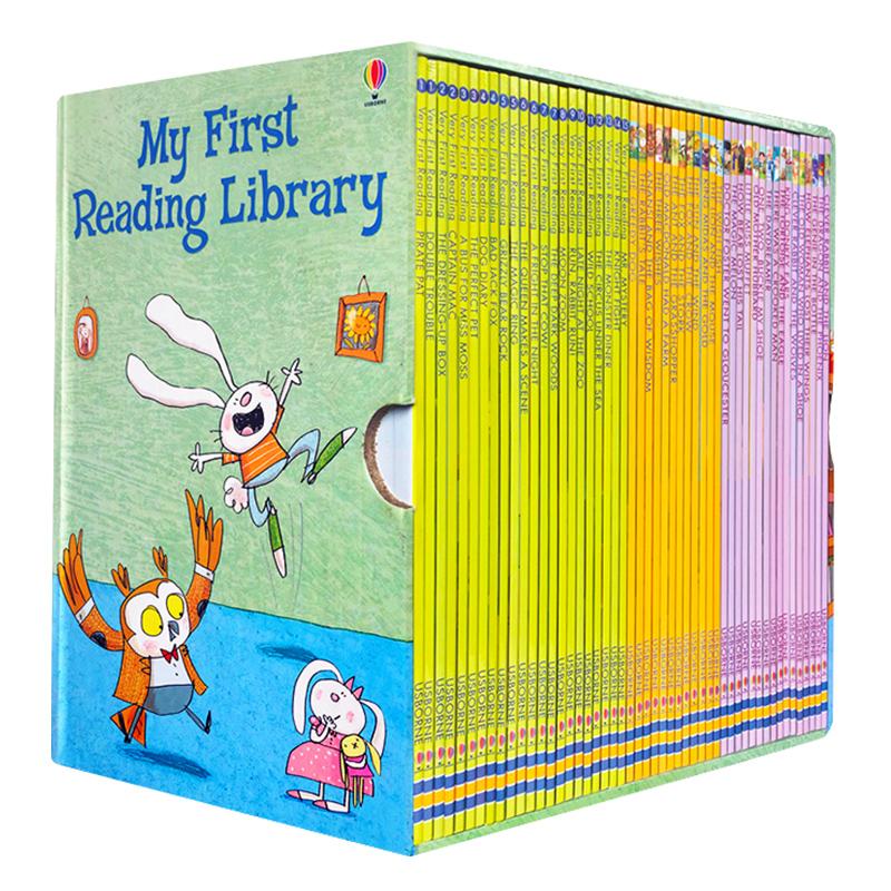 英文原版绘本My First Reading Library尤斯伯恩Usborne我的第一个图书馆50册分阶英语儿童进口3-8岁套myfirstlibrary