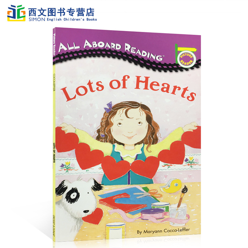 英文原版 All Aboard Rearding:Lots of Hearts 汪培�E一阶段