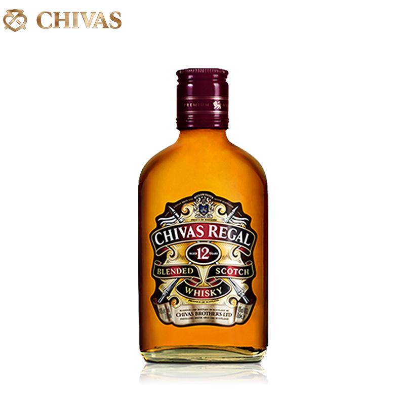 英國  芝華士12年蘇格蘭威士忌200ml 雞尾酒  洋酒