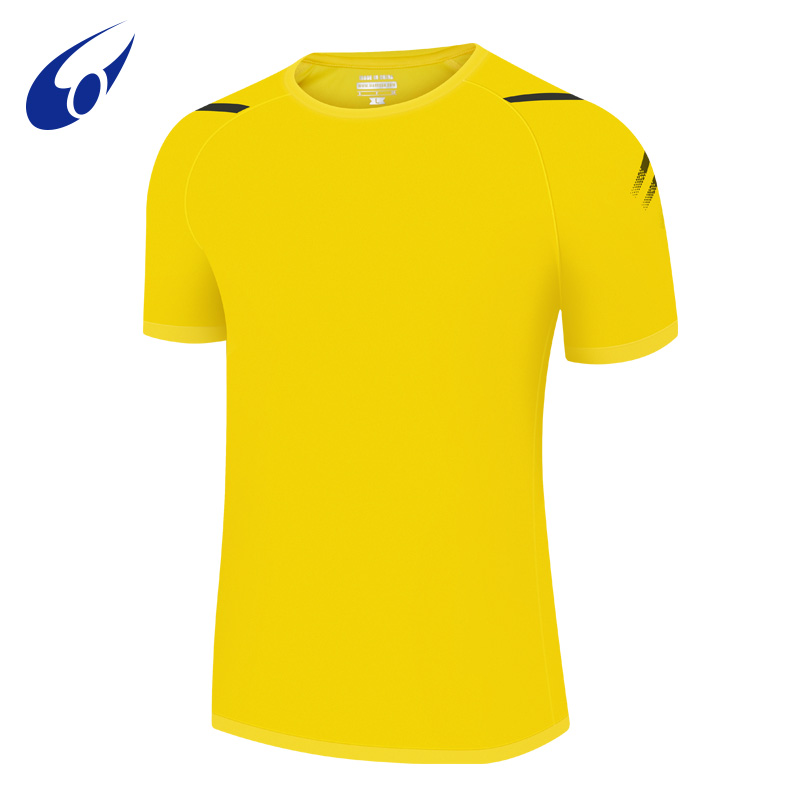 Wanyuda sports short sleeve round neck t-shirt mens and womens running gym leisure new fashion top 1902028