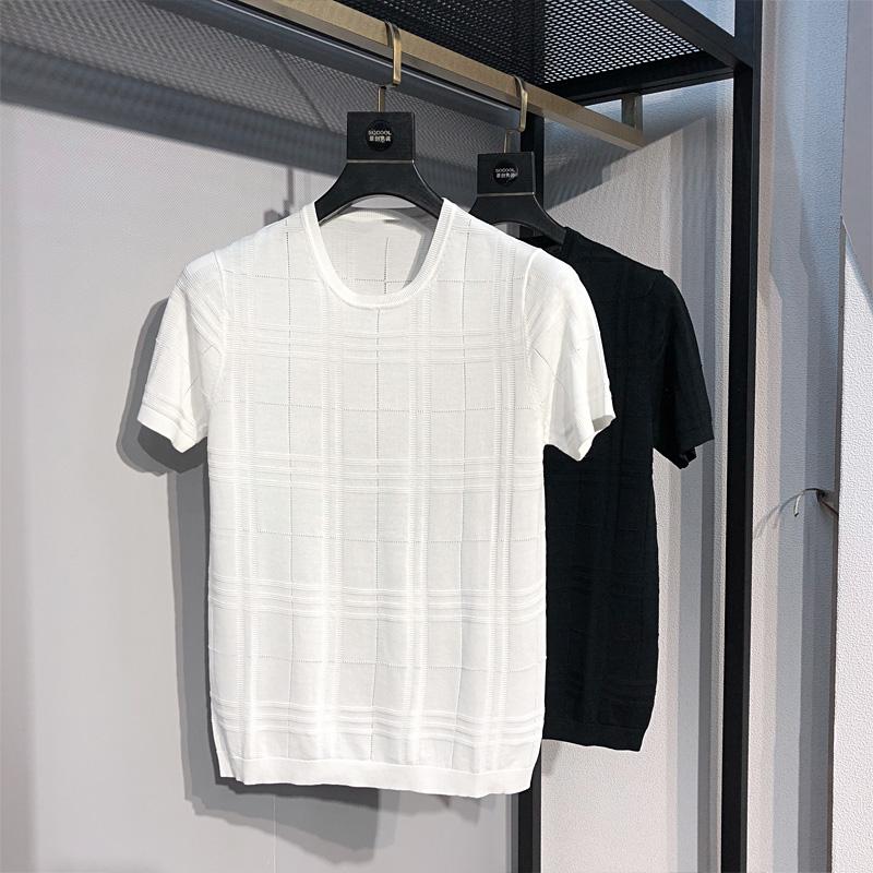 夏季新款短袖t恤衫男士圆领打底衫128.00元包邮