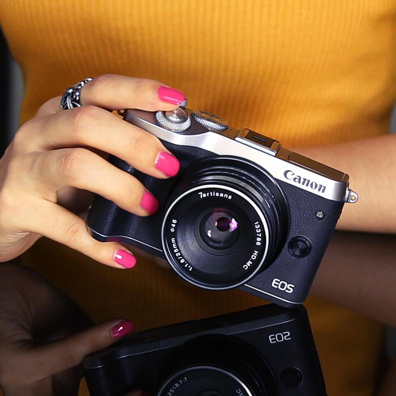 花呗分期 佳能EOS M6 微单相机 入门级 微单反相机 高清 数码单电