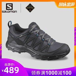 Salomon 萨洛蒙19秋冬新品户外登山鞋男女徒步鞋男 GTX防水鞋