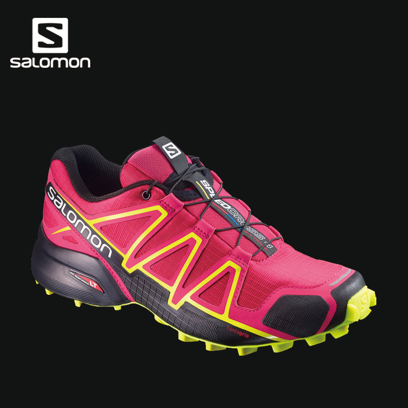 Salomon 萨洛蒙女款户外轻便越野跑鞋 SPEEDCROSS 4 W