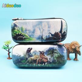 艾朵朵3D小学生文具盒男生笔袋侏罗纪大容量恐龙铅笔盒儿童礼物图片