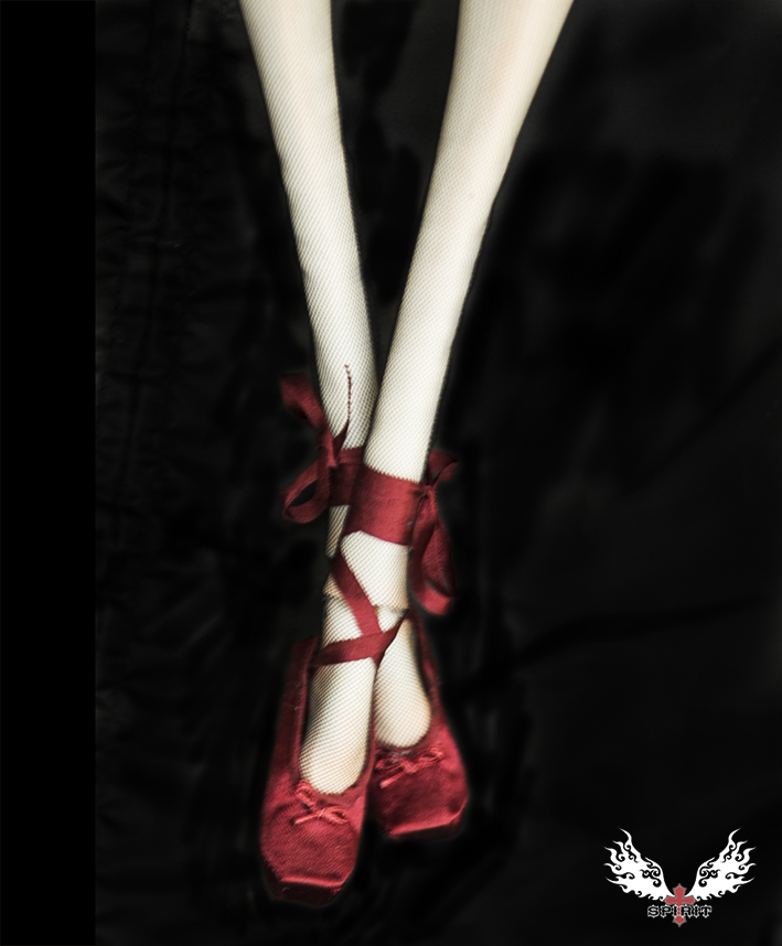 BJD baby ballet shoes (SD10 / 13 / sd16 / Fantasy / 4-point girl size)