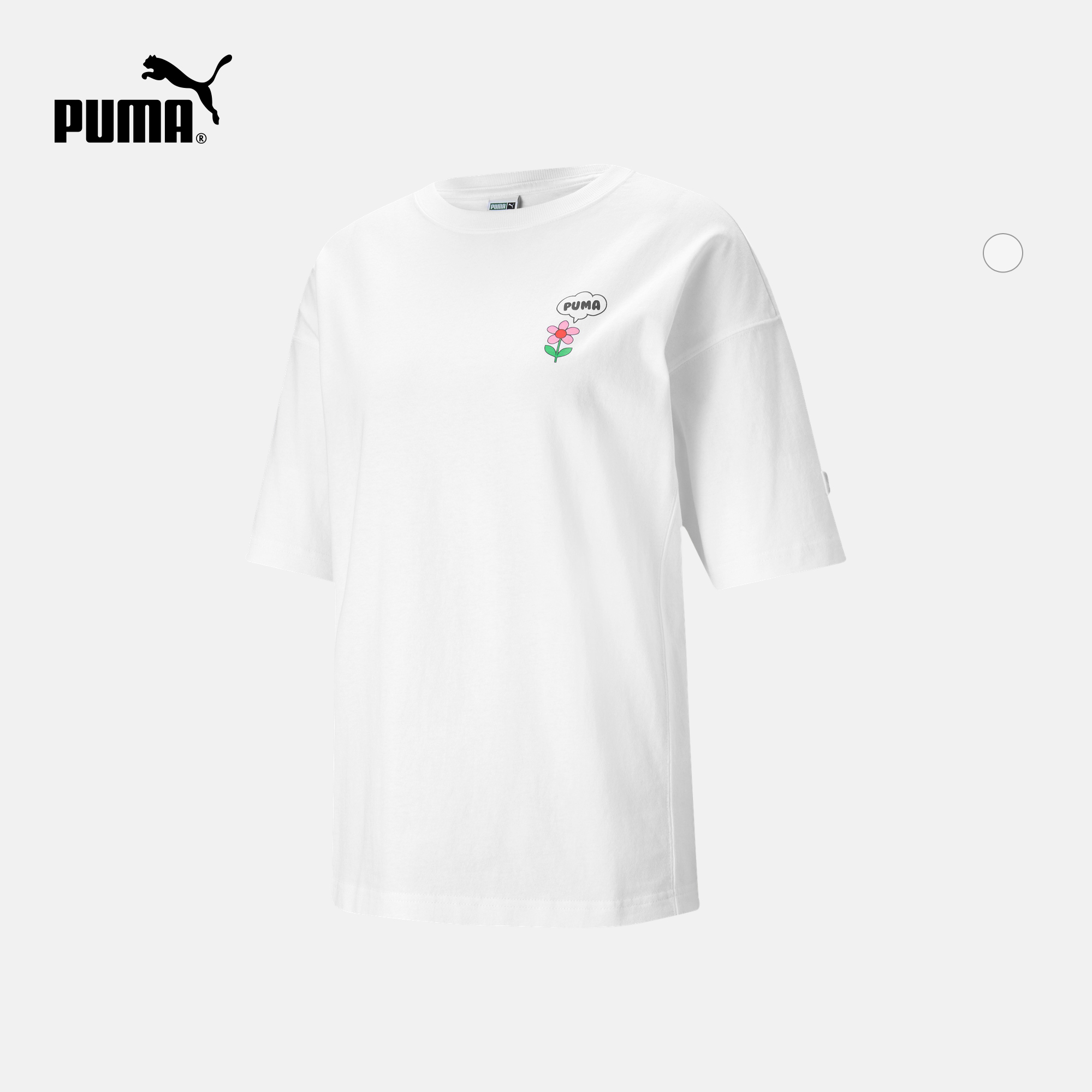 puma官方正品新款女子休闲印花t恤质量可靠吗