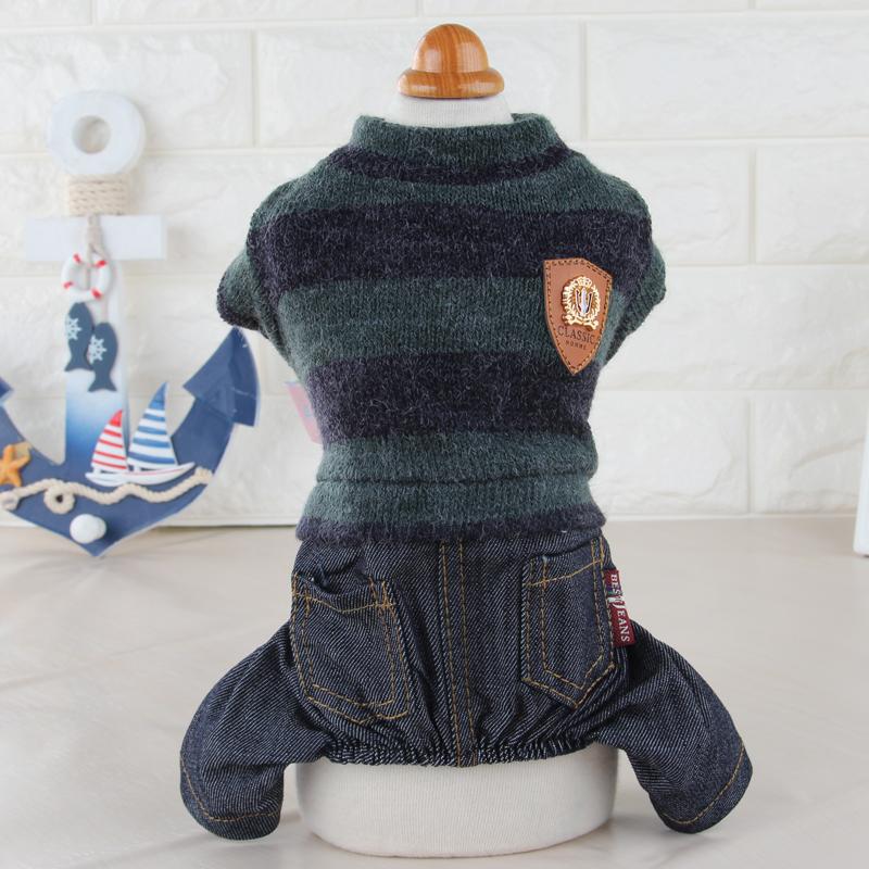 狗狗衣服冬裝寵物衣服泰迪小狗羊毛絨四腳貴賓衣服 裝衣服