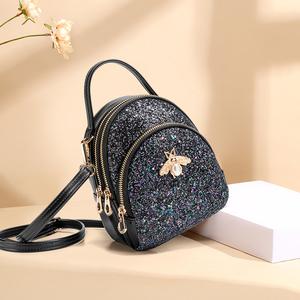 小包包女2020春夏新款女包时尚百搭质感迷你单肩斜挎包亮片手机包