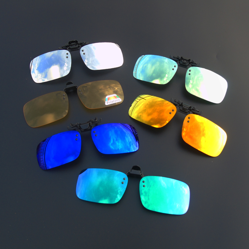 Sunglasses for men fishing with polarizing clips driving sunglasses for myopic women