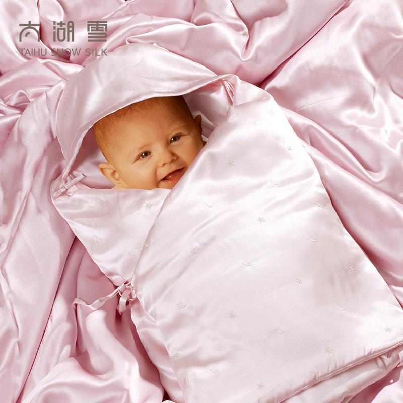 Слишком озеро снег новорожденных шелк спальный мешок шелк природный шелк подарки бесплатная доставка