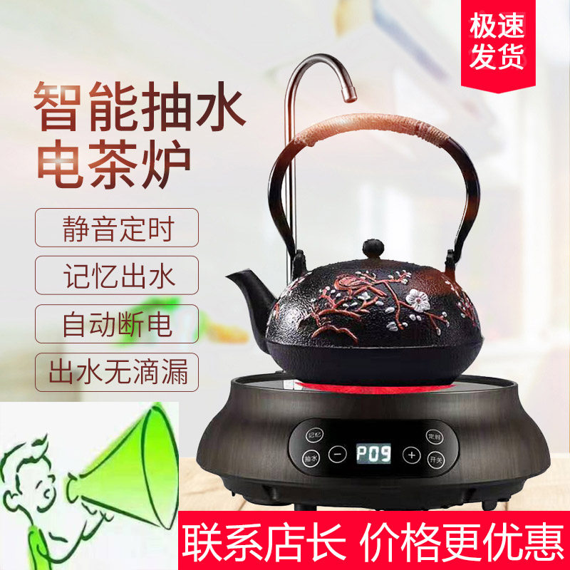 Emmas full automatic water and electricity ceramic stove tea maker