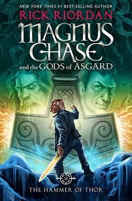 现货 雷神之锤 英文原版 Magnus Chase and the Gods of Asgard, Book 2 The Hammer of Thor (The S