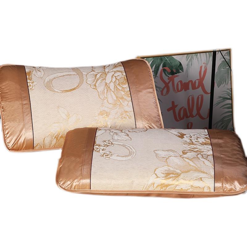 夏天床裙款冰丝席三件套凉席双人空调席1.5m1.8m折叠蕾丝床罩席子