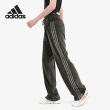 Adidas/ 2019 authentic women's new sports pants, knitted trousers, EB3782