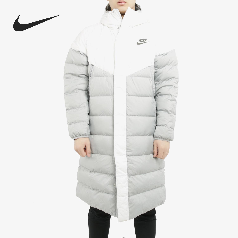 Nike/耐克正品男子冬季新款运动休闲连帽中长款加厚羽绒服 AA8854图片