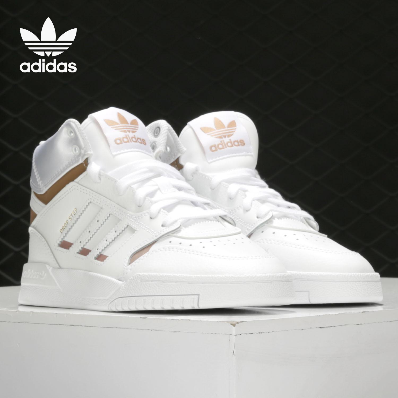 Adidas/阿迪达斯正品冬季新款男女高帮鞋板鞋运动休闲鞋EF7143图片