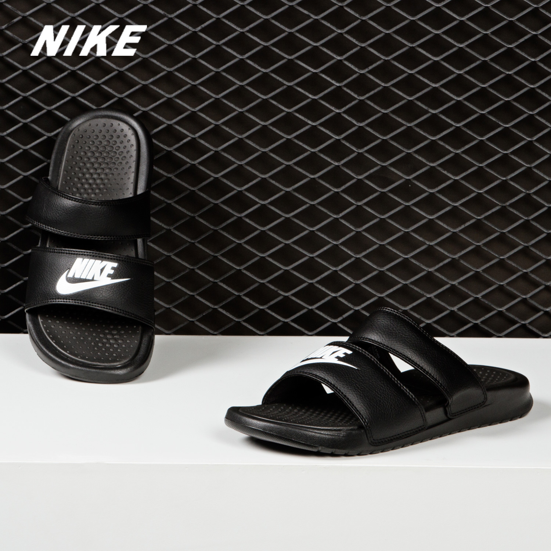 10月18日最新优惠Nike/耐克正品 BENASSI DUO ULTRA SLIDE 女子忍者拖鞋