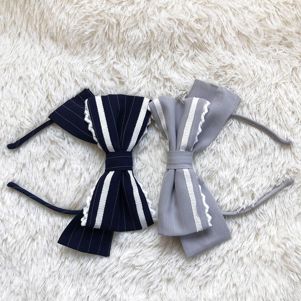 Original design MOON SAILOR small things big bow tie KC headwear headband Headband