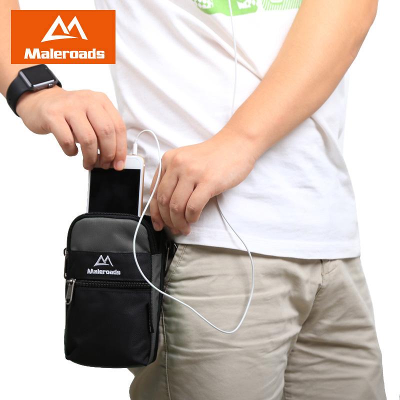 户外多功能贴身男士手机包穿皮带腰包旅行竖款挂包小收钱包生意包