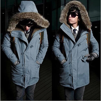 Foreign trade new 2016 winter section Korean women in the Korean version of the long fur collar collar hooded coat