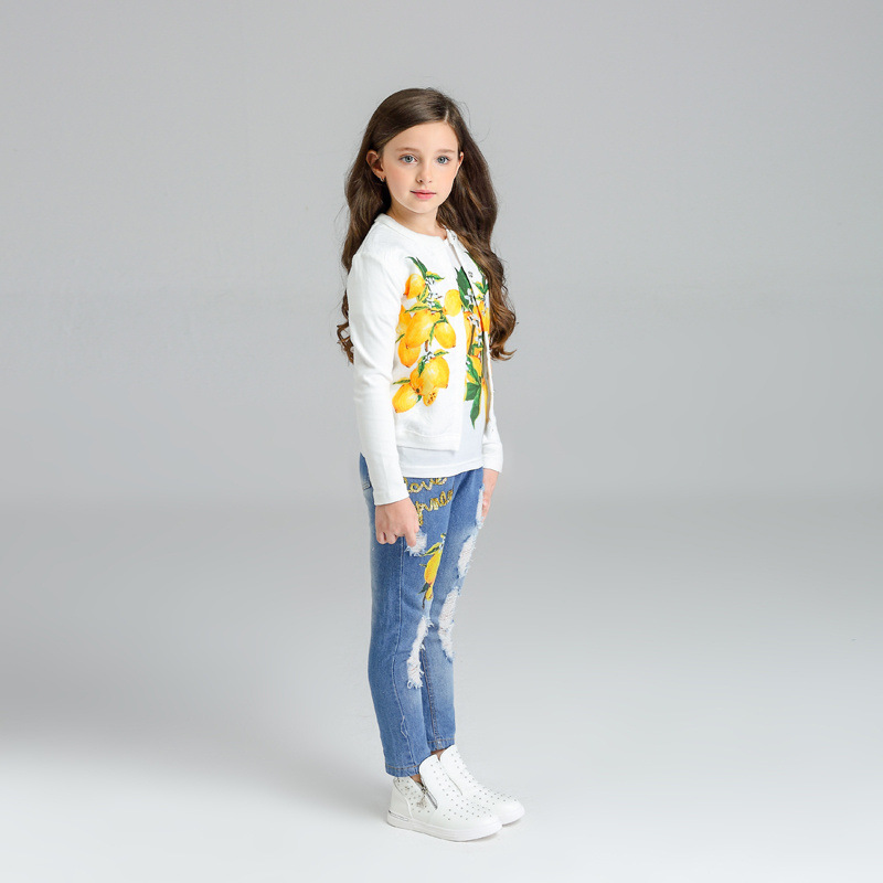 Factory direct sales of foreign trade on the new render the spring and autumn period and the children's clothes girls le