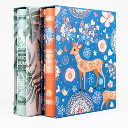 相册影集大6寸相册本插页式200张盒装4D家庭宝宝成长册纪念册