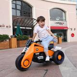 网红儿童电动摩托车可坐人大功率充电双驱电瓶三轮车玩具抖音同款