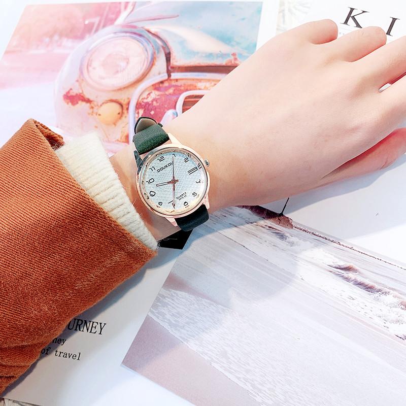 森女系ins复古风女装少女手表时尚潮流韩版小清新原宿女学生腕表