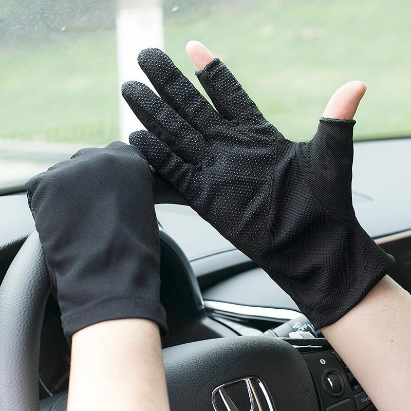 Мужские перчатки без пальцев Артикул 614321355750