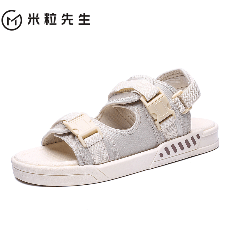 2020 summer new sandals men's trend beach shoes wear sandals for outdoor sports