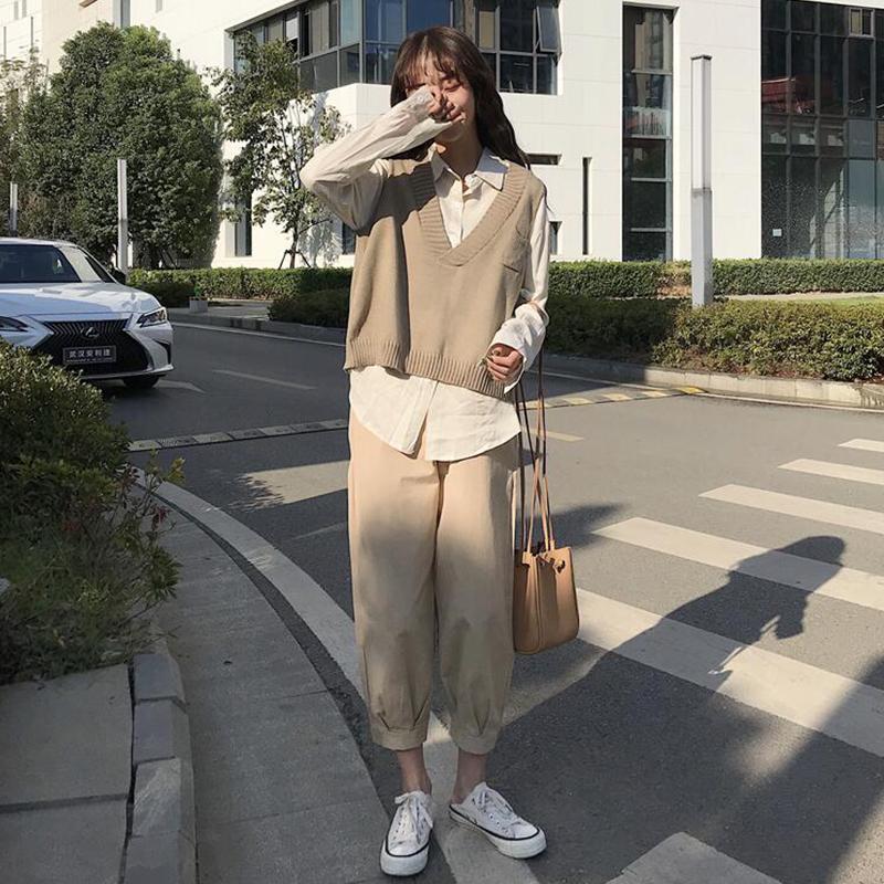 券后41.98元显瘦秋装女2019新款韩版减龄装上衣