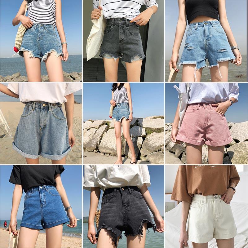 短裤女牛仔
