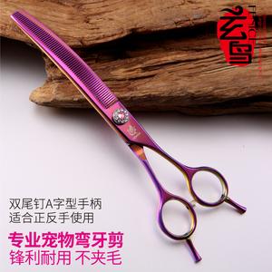 台湾玄鸟专业宠物美容师弯牙剪狗狗