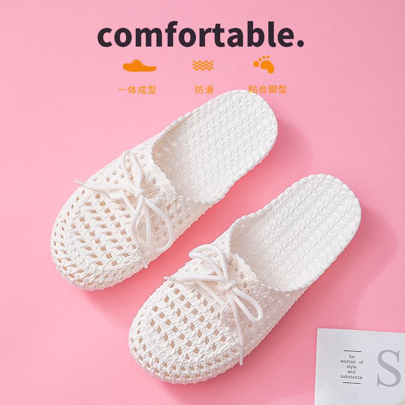 拖鞋女士外穿夏洞洞鞋2020年新款时尚办公室懒人包头半拖女凉拖鞋