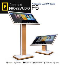 FROSS/沸斯 F6 家庭KTV点歌机高清智能影音 云端曲库触摸屏一体机