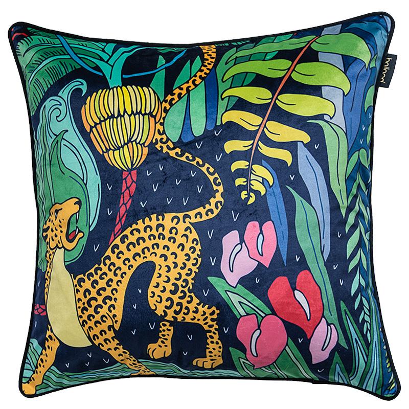 0048斑马纹丛林系列抱枕沙发办公室床头靠枕套腰枕汽车靠背含芯