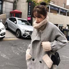 大衣~冬天就要带毛毛领的,休闲舒服还温暖