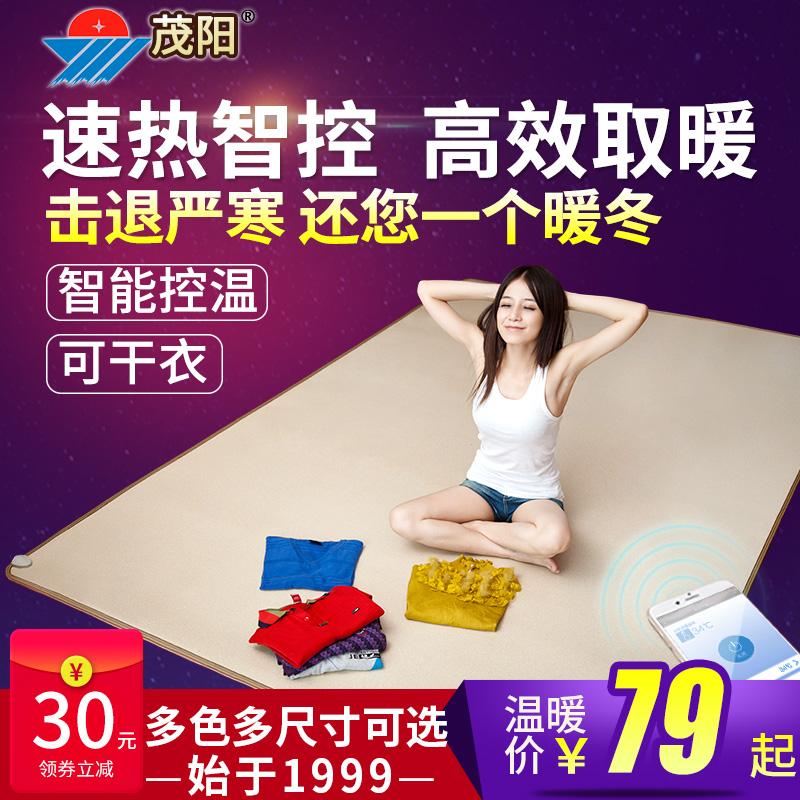 茂阳碳晶地暖垫发热暖脚垫暖手宝电热地毯发热脚垫移动取暖地热垫