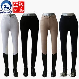 horsy马术马裤专业骑马马裤超弹舒 马术装备用品男女同款修身款