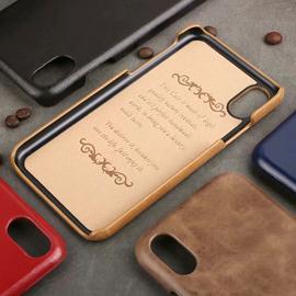 苹果x手机壳xr真皮iphonexsmax超薄11Pro复古皮质8plus保护套潮7p图片