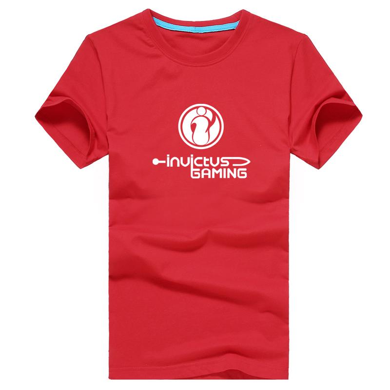 夏季新款游戏IG休闲LOL战队服男士运动纯棉短袖T恤英雄联盟OMG