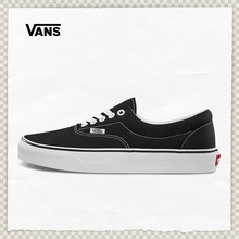 Vans Fans Official Classic Black Era Lower Help Couple Sports Canvas Shoes