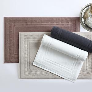 酒店纯棉吸水地巾厕所加厚防滑地垫浴室卫生间家用毛巾脚垫可机洗