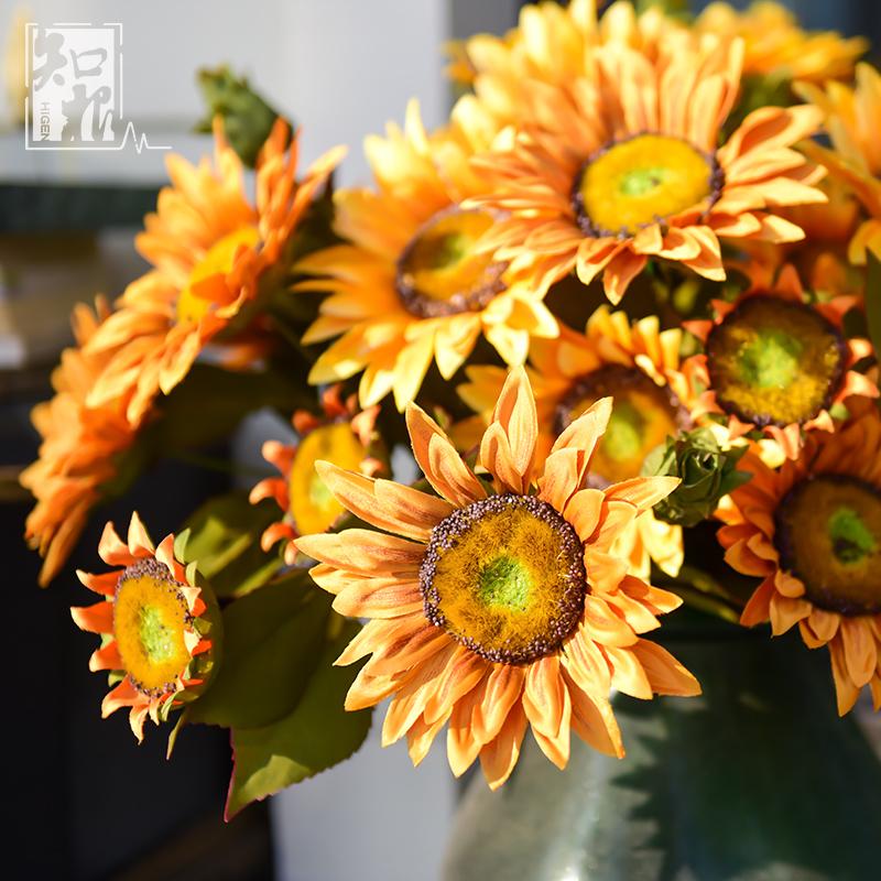 向日葵假花